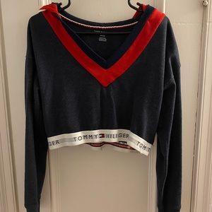 Tommy Hilfiger cropped sweatshirt - NWOT